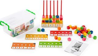 Juego Miniland Abacus multibase 90 piezas
