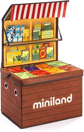 Juego Miniland Market box