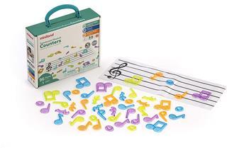 Juego Miniland Translucent Musical Counters