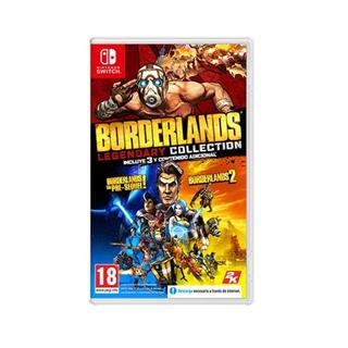 JUEGO NINTENDO SWITCH BORDERLANDS LEGENDARY ...