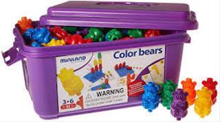 Juego ositos colores ejercicios SERIACION Y ...