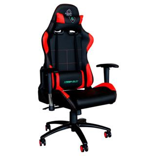 KEEPOUT SILLA GAMER KEEP OUT XS200 PRO COLOR NEGRO CON DETALLES