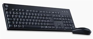 TECLADO Y MOUSE WIRELESS HIDITEC KM400 PRO ...