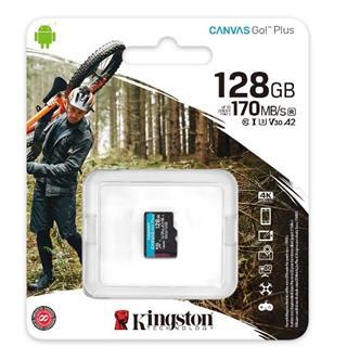 Kingston 128GB MICROSD CANVAS GO PLUS