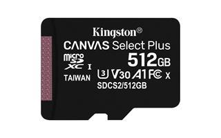 Kingston 512GB MSD CSPLUS 100R A1 C10 SINGLE