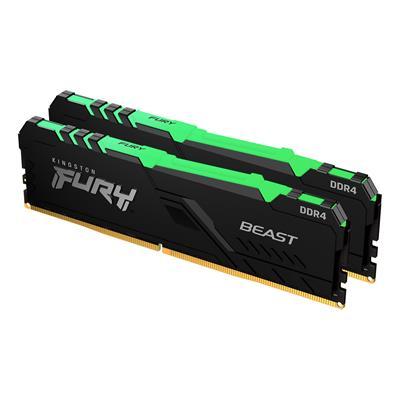 KINGSTON 64GB DDR4-3600MHZ CL18 DIMM    (KIT OF 2) FURY BEAST R