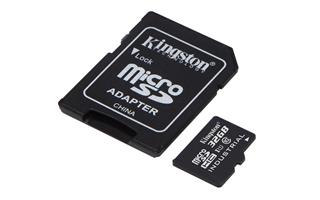 KINGSTON FLASH 32GB microSDHC UHS-I Class 10 ...