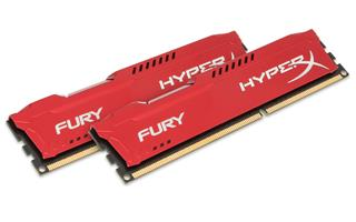Memoria ram HyperX Fury Red 16GB 1600MHz DDR3