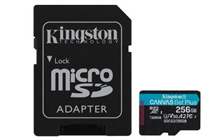 KINGSTON MICROSDXC 256GB CANVAS GO PLUS 170R A2 ...