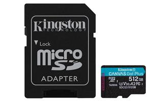 KINGSTON MICROSDXC 512GB CANVAS GO PLUS 170R A2 ...