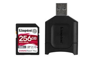 Memoria KINGSTON SDXC 256GB REACT PLUS + MLP SD ...