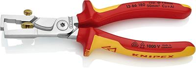 KNIPEX Cable Shears with stripping function