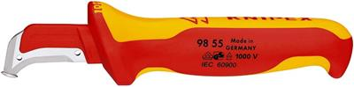 KNIPEX Cuchillo pelacables 180mm