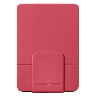KOBO SLEEPCOVER CASE W/ STAND        FOR CLARA HD PU LEATHER Roj