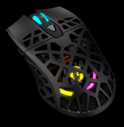 Krom Kaiyu ratón mano derecha USB tipo A Óptico ...