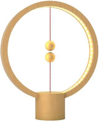 Lámpara Powercube Heng Balance USB madera 4W