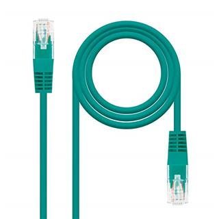 LATIGUILLO RJ45 CAT.6 3M VERDE NANOCABLE