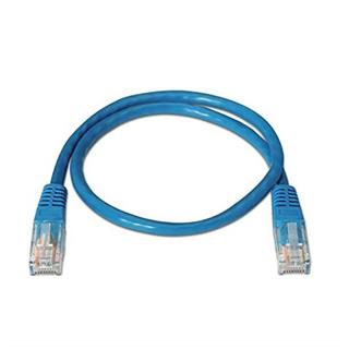 CABLE RED LATIGUILLO RJ45 CAT.6 UTP AWG24,2M AZUL ...