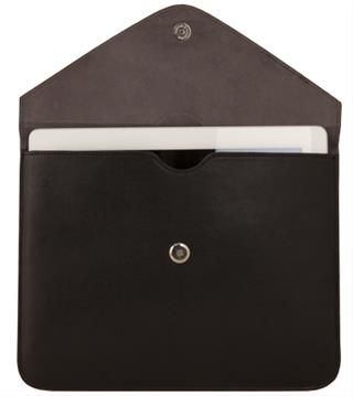 URBAN FACTORY LEATHER ENVELOPPE BLACK         FOR TABL
