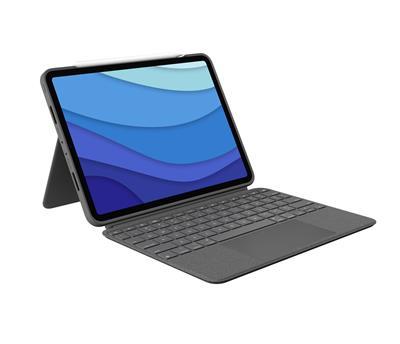 Funda con teclado Logitech Combo Touch Gris para ...