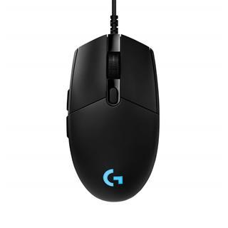Logitech PRO HERO Gaming Mouse - BLACK - EWR2