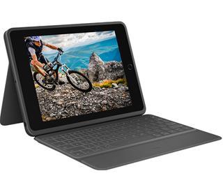 Funda con teclado Logitech 920-009317 para iPad ...