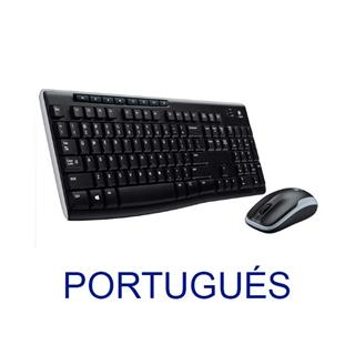 Teclado Logitech Wireless Combo MK270 (Portugal)