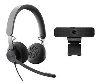 Sistema de videoconferencia Logitech Wired ...