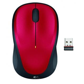 Logitech Wireless Mouse M235 Red
