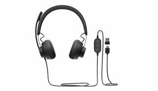 Auriculares Logitech  ZONE WIRED -  GRAPHITE - EMEA CON CERTIFICACION MS TEAMS