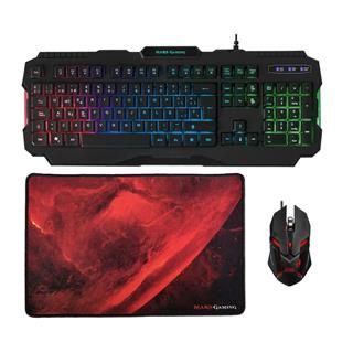 Mars Gaming MCP118 GAMCOMBO RGB KBOARD+MOUSE+MPAD SP