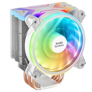 Mars Gaming MCPUX Ventilador CPU ARGB 120mm blanco