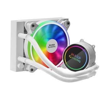 Mars Gaming ML120 White12x12 RGB-A Refrigeración ...