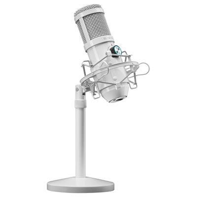 Micrófono profesional Mars Gaming MMICX USB Blanco