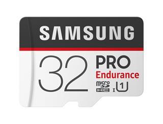 Micro sd samsung 32gb pro endurance c10 r100/w30g con adaptador