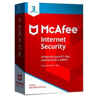 MCAFEE INTERNET SECURITY 2019 MULTIDISPOSITIVO (3 ...