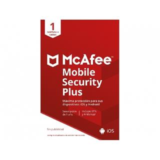 MCAFEE MOBILE SECURITY PLUS -   ANDROID O IOS   1 ...