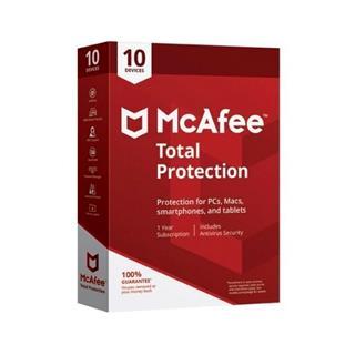 MCAFEE TOTAL PROTECTION 2019 MULTIDISPOSITIVO (10 dispositivos)