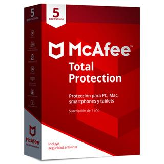 MCAFEE TOTAL PROTECTION 2019 MULTIDISPOSITIVO (5 ...