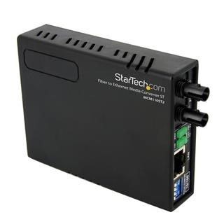 Conversor de Medios Ethernet 10/100 RJ45 a Fibra Óptica Multimod