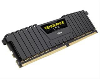MEMORIA CORSAIR DDR4 16GB 2X8GB PC 2400 VENGEANCE LPX BLACK
