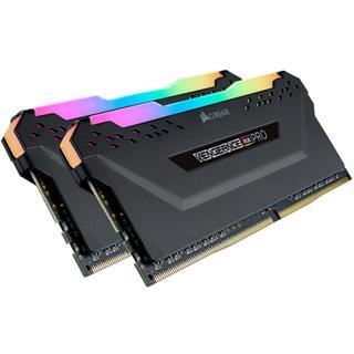 Memoria ram Corsair Vengeance RGB Pro DDR4 16GB 3466MHz negra