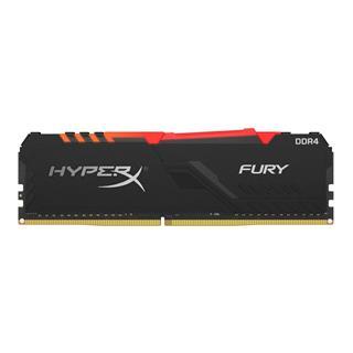 MEMORIA HYPERX FURY RGB DDR4 8GB KINGSTON