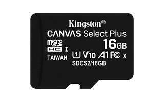 MEMORIA MICRO SD 16GB XC1 C10 A1 KINGSTON