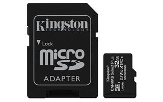MEMORIA MICRO SD 32GB XC1 C10 A1 KINGSTON