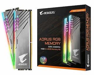 MODULO DDR4 16GB (2X8GB) 3200MHZ AORUS RGB-DESPRECINTADO