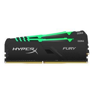 Memoria ram HyperX Fury RGB DDR4 64GB 2x32GB ...