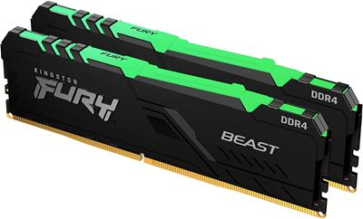 Memoria ram Kingston FURY Beast RGB DDR4 16GB ...