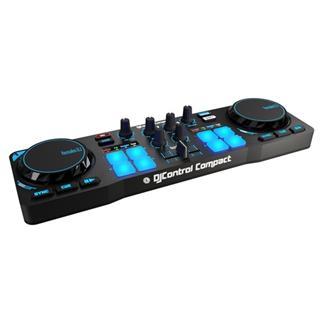 Mesa de mezclas Hercules DJControl Compact