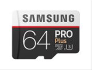 MICRO SD SAMSUNG PRO+ 64GB C10 PRO+ c/ADPT R100/W90